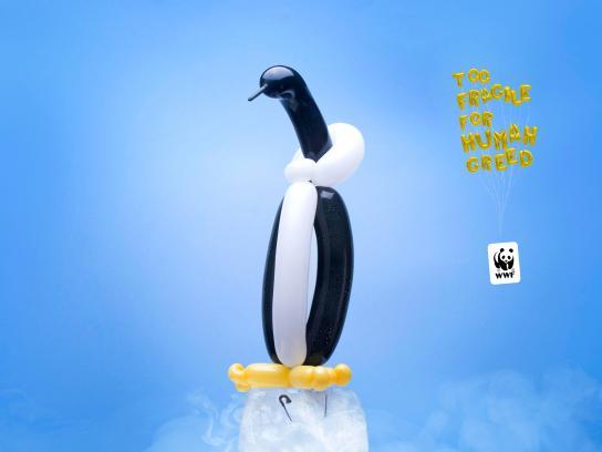 WWF Print Ad - Ballon animals, 4