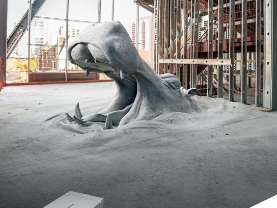 USG Corporation Print Ad - Structural Panels - Hippo