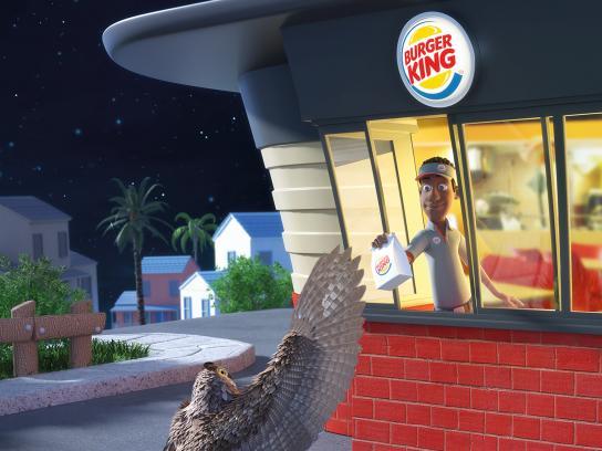 Burger King Print Ad - Night Owls, 2
