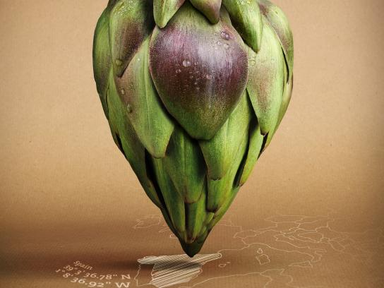 Followfish Print Ad -  Artichoke