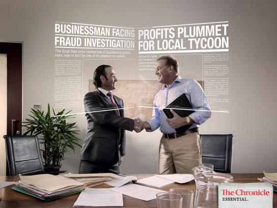 APN News & Media Print Ad -  Dodgy Deal