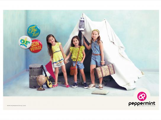 Peppermint Print Ad - Bon voyage
