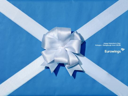 Eurowings Print Ad - Edinburgh
