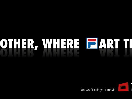 Teleclub Outdoor Ad -  We won't ruin your movie, 4