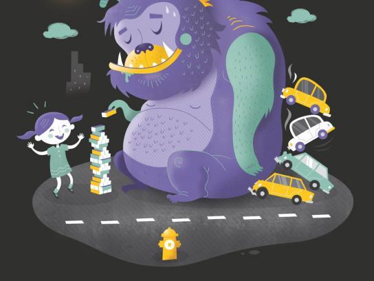 Ottawa International Animation Festival Outdoor Ad -  Inner child, 5