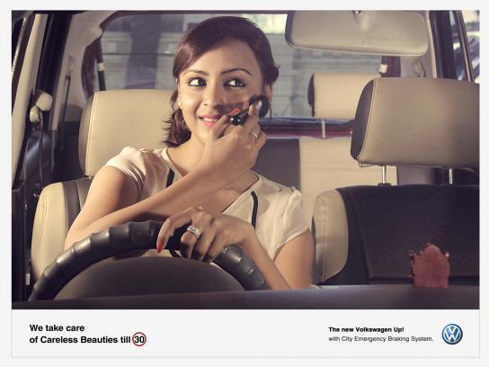 Volkswagen Print Ad -  Careless, 4