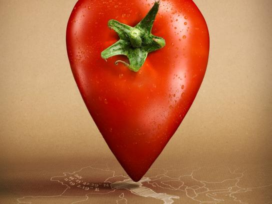 Followfish Print Ad -  Tomato