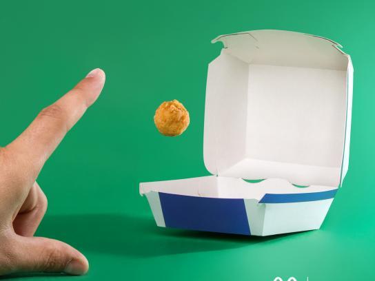 McDonald's Print Ad - Basketball