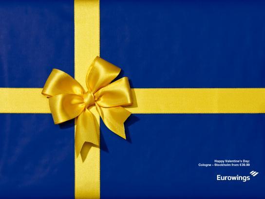 Eurowings Print Ad - Stockholm