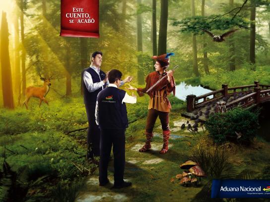 Aduana Nacional de Bolivia Print Ad -  This story ends here, 6