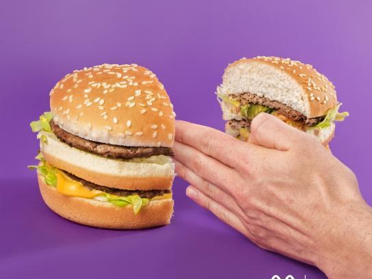 McDonald's Print Ad - Karate