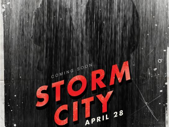 The Weather Channel Outdoor Ad -  Coming Soon, Storm City