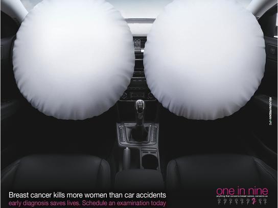 One In Nine Print Ad - Airbags