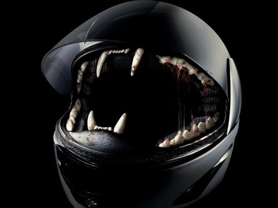 Forstinger Print Ad -  Motorcycle Helmet