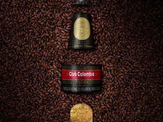 Club Colombia Print Ad - 100% Malt, 100% Mastery - Negra