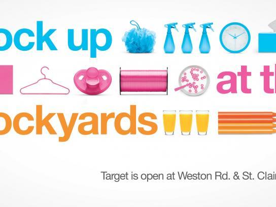 Target Outdoor Ad -  Stockyards