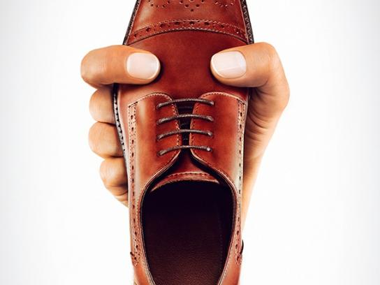 MAX Shoes Print Ad -  Face, 1