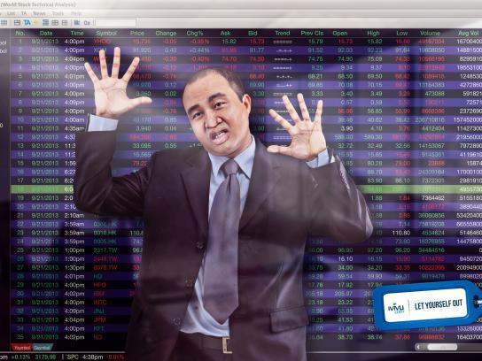 iVIVU.com Print Ad -  Stockbroker