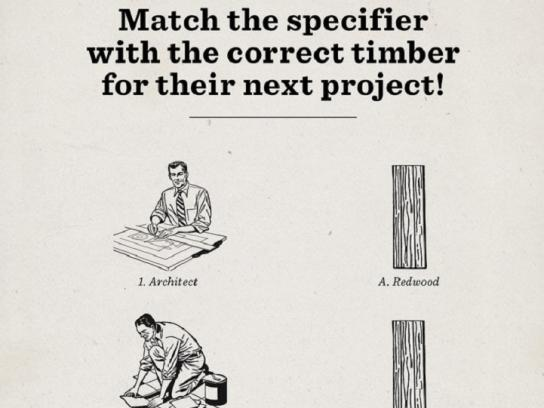 Humboldt Redwood Print Ad - The Obvious Choice, 1