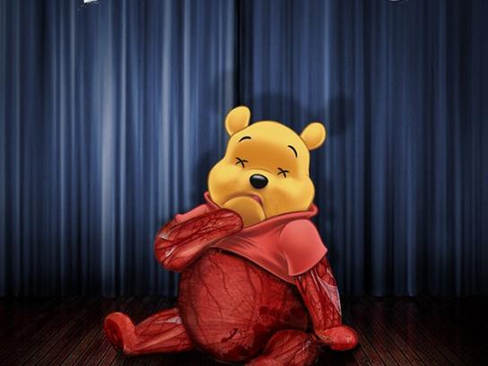 PETA Print Ad -  Pooh