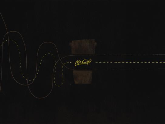 McCafé Print Ad - Think Straight, 3