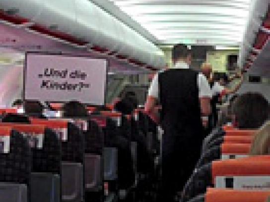 Germanwings Ambient Ad -  Planemob