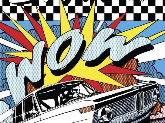 BMW Print Ad - '60s
