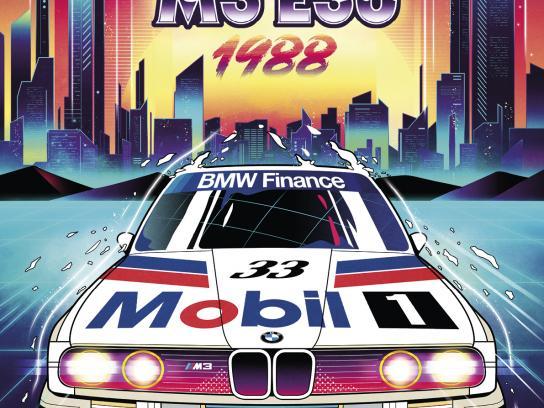 BMW Print Ad - '80s