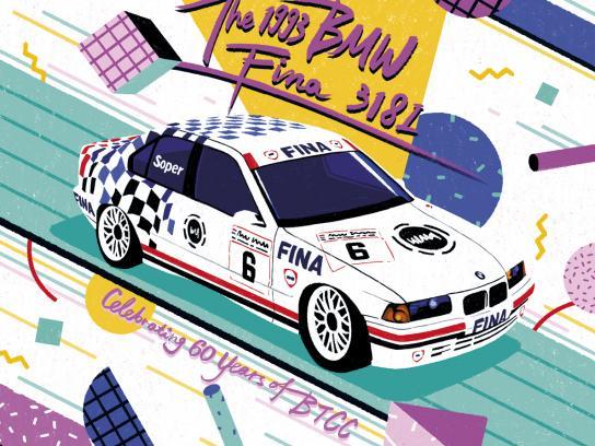BMW Print Ad - '90s