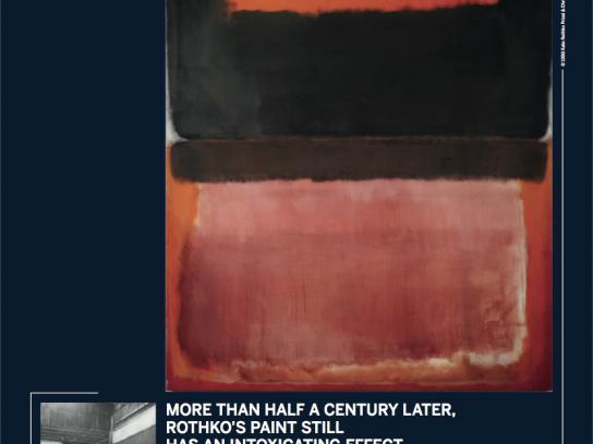 Sotheby's Print Ad -  Mark Rothko