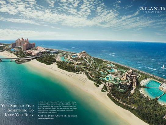 Atlantis Print Ad -  Busy