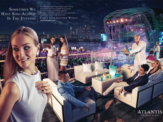 Atlantis Print Ad -  Entertainment
