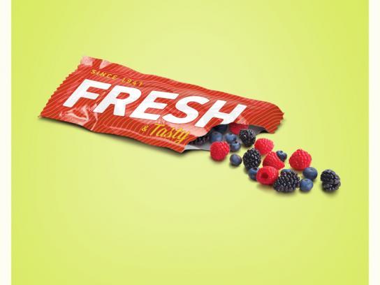 Dallas Farmers Market Print Ad -  Fruit