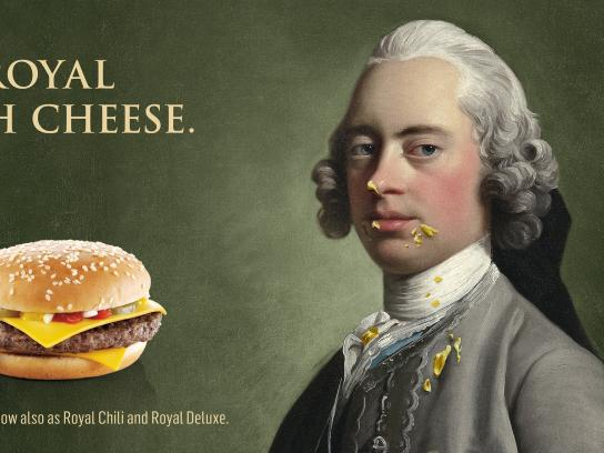 McDonald's Print Ad -  Royal with Cheese