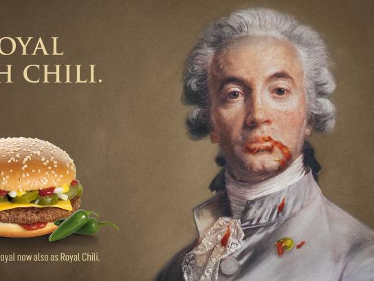 McDonald's Print Ad -  Royal with Chili