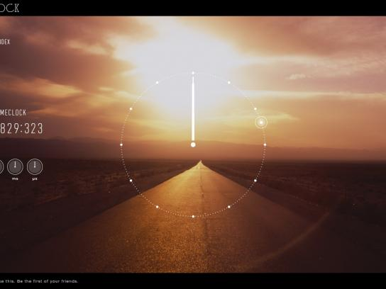 Rado Digital Ad -  Lifetime Clock