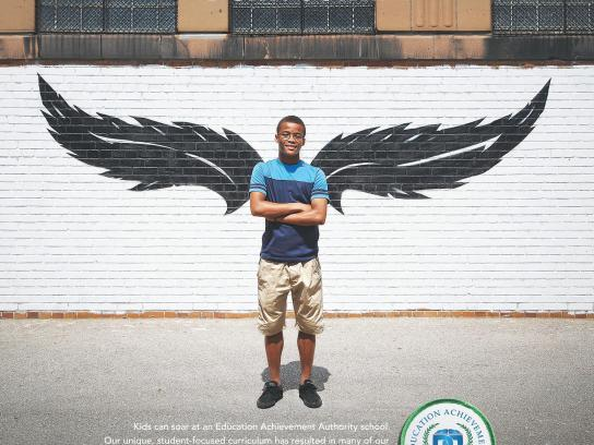 Education Achievement Authority Print Ad -  Wing, 1
