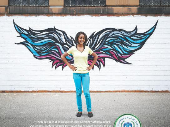 Education Achievement Authority Print Ad -  Wing, 2