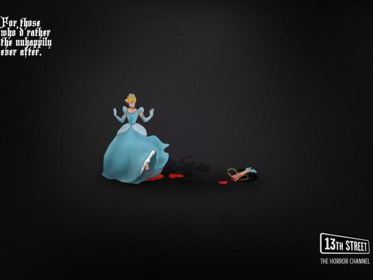 13th Street Print Ad -  Cinderella