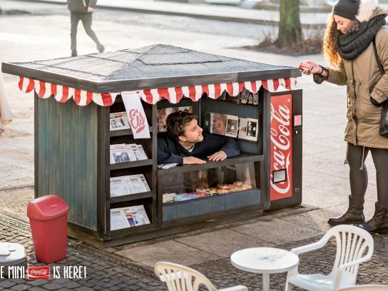 Coca-Cola Print Ad -  Kiosk, 2