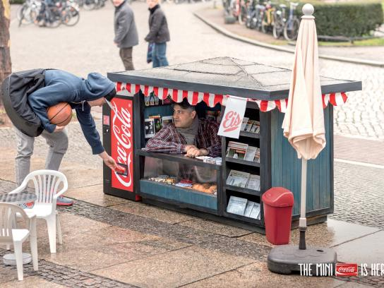 Coca-Cola Print Ad -  Kiosk, 3
