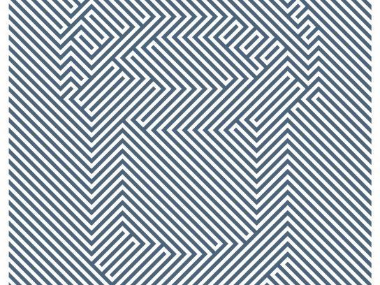 Benjamin Moore Print Ad - Blue