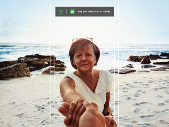 15min Print Ad - Merkel