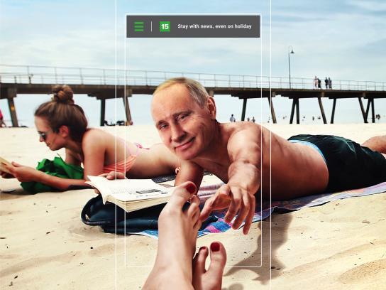 15min Print Ad - Putin