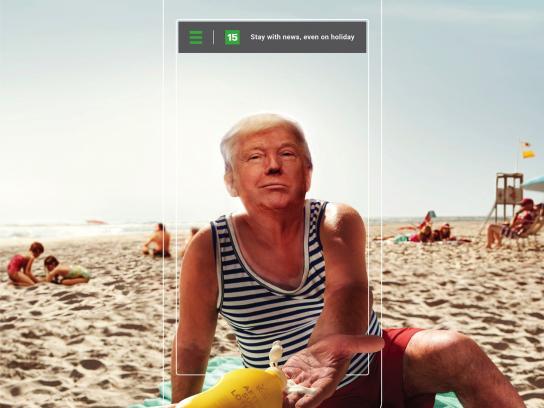 15min Print Ad - Trump