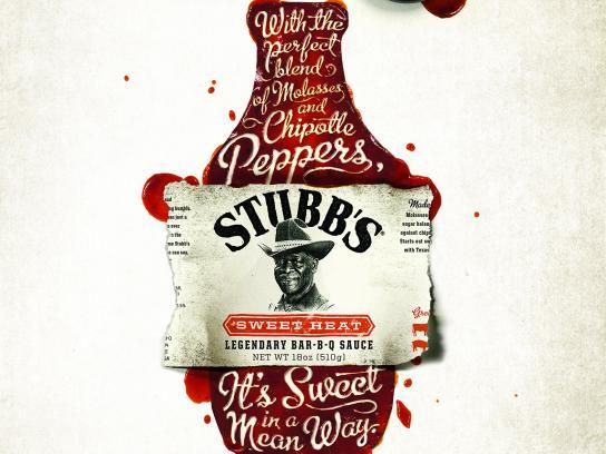 Stubb's Print Ad - Mean