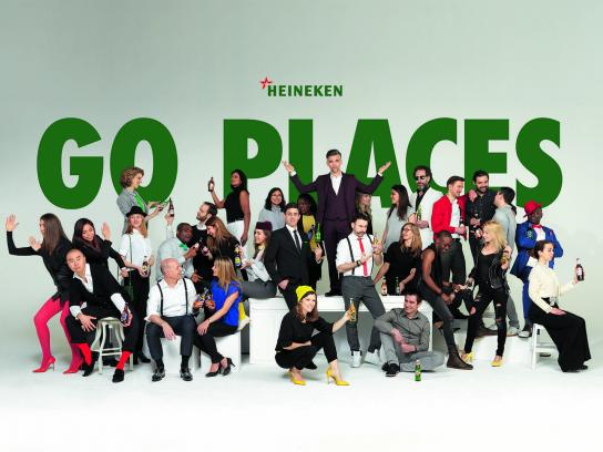Heineken Digital Ad - Go places