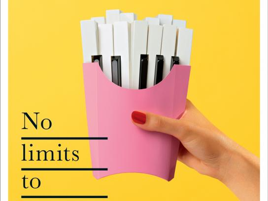 Philharmonie de Paris Print Ad - No Limits, 3