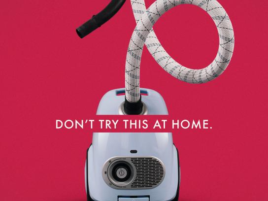 Orion Print Ad - Don't try this at home, 1