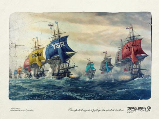 Young Lions Print Ad -  Battle of 1781